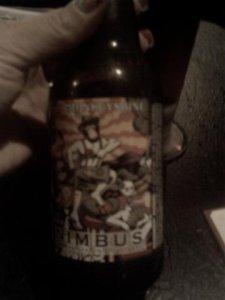 nimbus Old Monkey Shine beer
